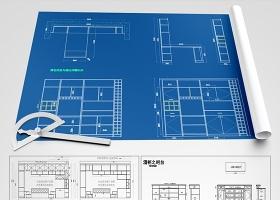 原创全屋定制酒柜书柜鞋柜衣柜CAD图库-版权可商用