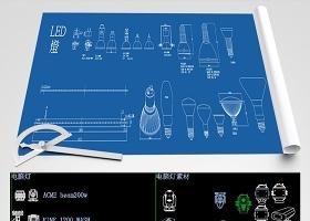 原创舞台音响灯光CAD图库-版权可商用