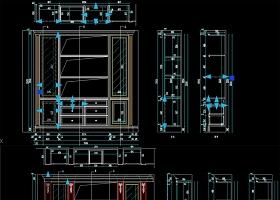 原创实木柜子研发动态块