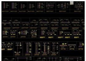 2017墙面吊顶地平门CAD大样节点详图