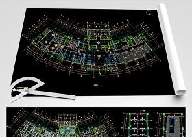 原创全套医院CAD装修施工图