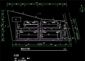 原创某厂区消防CAD平面图
