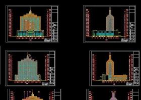 原創全套建筑幕墻CAD施工圖-版權可商用