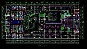 原創桑拿CAD平面布置圖
