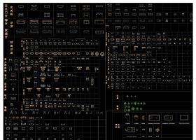 2016收集多种风格CAD图库