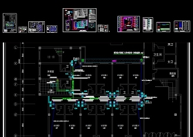原創紀委辦案樓談話室安防系統工程全套深化施工圖-版權可商用