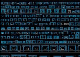 原创电视机背景墙CAD-版权可商用