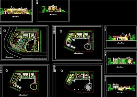 原创幼儿园CAD方案设计图