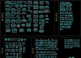 原创精选室内设计施工图cad图库素材-版权可商用