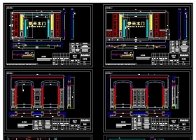 原创整木定制家居分解拆单CAD图库大全-版权可商用
