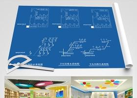 原創兒童少兒青年培訓機構CAD施工圖效果圖-版權可商用