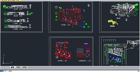 原创幼儿园CAD游乐设施规划图