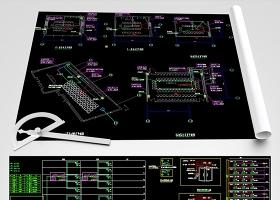 原創CAD機房弱電智能化系統平面圖-版權可商用