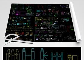 原创智能弱电安防监控CAD图集大全-版权可商用