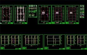 原创酒店三层?#32440;?#26500;餐厅CAD方案图
