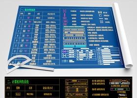 超全弱电智能化图库系统图例图块CAD