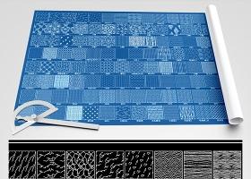 原创CAD填充图案图库PAT导入-版权可商用