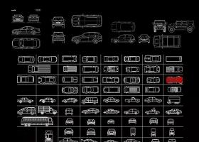 原创汽车CAD图纸-版权可商用