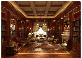 原創整木四層別墅歐式裝修全套施工圖紙帶圖片-版權可商用