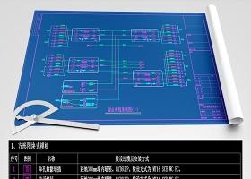 原创综合布线系统设计全套模板资料CAD弱电智能化