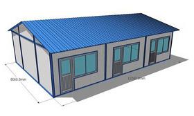 原创钢结构彩钢板房CAD施工图纸-版权可商用
