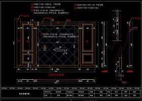 原创护墙板深化下单CAD图纸-版权可商用