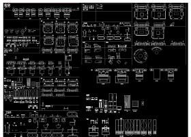 原创史上的动态块CAD图库-版权可商用