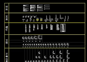 原创CAD五金图库大全—CAD模型库下载-版权可商用