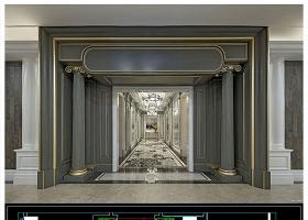 原创整木定制成都南富森展厅案例CAD图纸-版权可商用