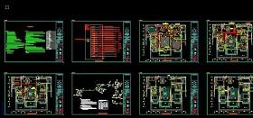 原创CAD水电系统图-版权可商用
