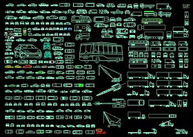 原创汽车CAD图纸