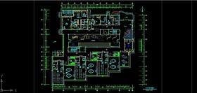 原创三层幼儿园工装室内装修CAD施工图纸设计-版权可商用