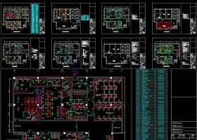 原创大型连锁快餐店配餐中心CAD全套施工图-版权可商用