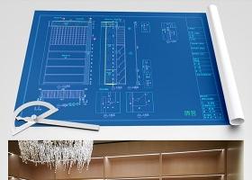 原創輕奢風格全屋定制展廳CAD圖紙-版權可商用