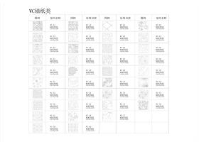 原创天非设计专用CAD填充样式-版权可商用