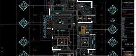 欧式室内家装施工图(全套)图片