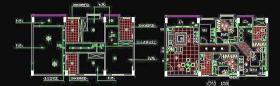 CAD房屋設計平面圖