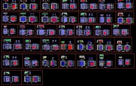 37款衣柜CAD設計圖