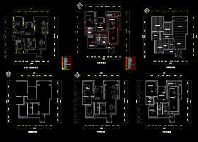 室内设计CAD平面图图片