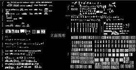 AutoCAD立面图库