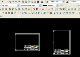 國家標準CAD圖框模板