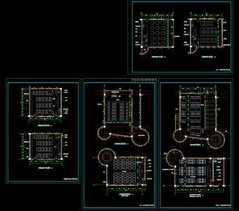家属楼电路图_教室CAD图纸素材下载【建库图纸】