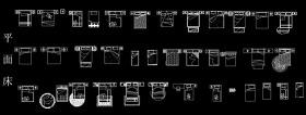 AutoCAD床圖庫下載