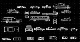 汽车模型 超全 cad图