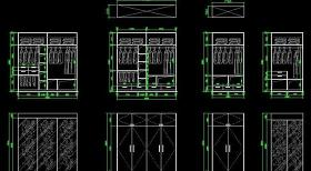 衣柜設計圖片
