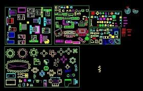 CAD家具圖庫