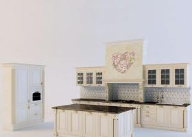 3dmax厨房模型