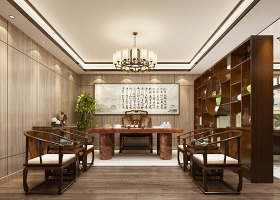 3Dmax2012中國風書法室