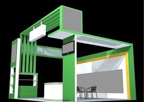 展覽展臺3Dmax模型源文件