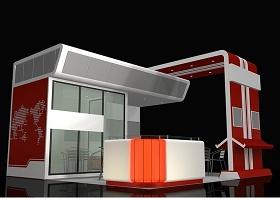 洽談室展位展示3Dmax模型文件
